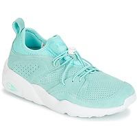 Zapatos Mujer Zapatillas bajas Puma BLAZE OF GLORY SOFT WNS Azul / Blanco