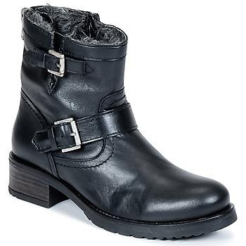 Zapatos Mujer Botas de caña baja Buffalo ES-30493-MEXICO Negro