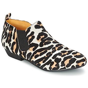 Zapatos Mujer Botas de caña baja Buffalo SASSY Leopardo