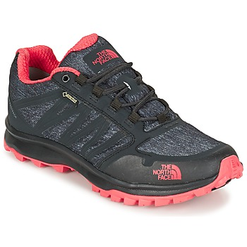 Zapatos Mujer Senderismo The North Face LITEWAVE FASTPACK GORETEX Negro / Coral