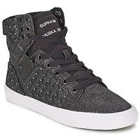 Zapatos Mujer Zapatillas altas Supra SKYTOP Negro / Blanco