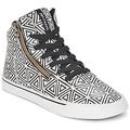 Zapatos Mujer Zapatillas altas Supra CUTTLER Blanco / Negro
