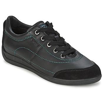 Zapatos Mujer Zapatillas bajas Geox MYRIA Negro