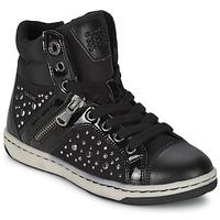 Zapatos Niña Zapatillas altas Geox CREAMY C Negro