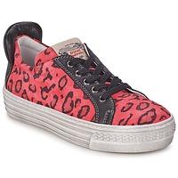 Zapatos Niña Zapatillas bajas Diesel JAKID Rosa / Leopardo