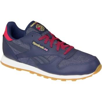 Zapatos Mujer Deportivas Moda Reebok Sport Classic Leather DG AR2042 Blue