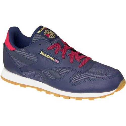 Los últimos zapatos de descuento para hombres y mujeres Reebok Sport Classic Leather DG AR2042 Blue - Zapatos Deportivas Moda Mujer  Blue