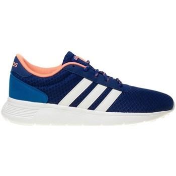 Zapatos Mujer Zapatillas bajas adidas Originals Lite Racer W Blanco-Azul