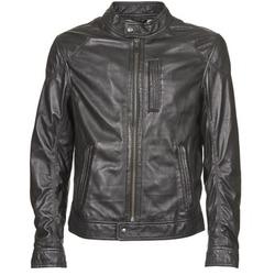 textil Hombre Chaquetas de cuero / Polipiel Oakwood 60835-501 Negro