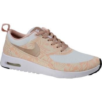 Zapatos Niños Deportivas Moda Nike Air Max Thea Print GS 834320-100 Beige