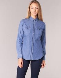 textil Mujer camisas Yurban FERVINE Azul