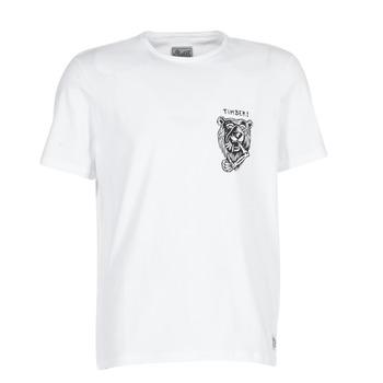 textil Hombre camisetas manga corta Element ATTACK SS Blanco