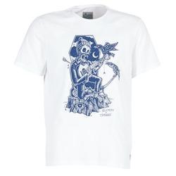 textil Hombre camisetas manga corta Element SERENADE SS Blanco
