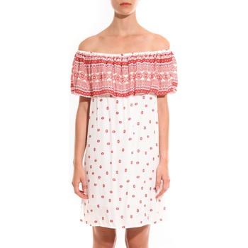 textil Mujer Vestidos cortos Jad Robe Atina Rouge Rojo