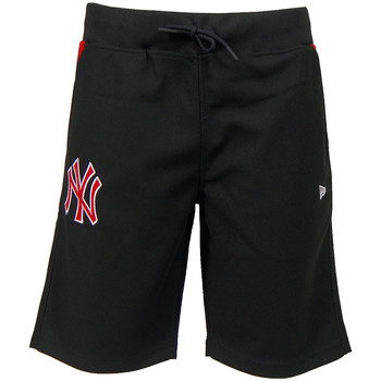 textil Hombre Shorts / Bermudas New Era MLB New York Yankees Short Diamond Era Negro