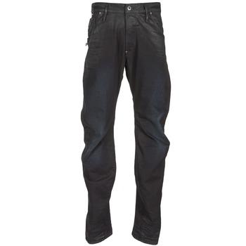 textil Hombre vaqueros rectos G-Star Raw NEW ARC ZIP 3D Negro
