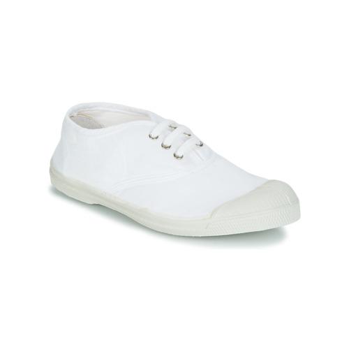 Zapatos Niños Zapatillas bajas Bensimon TENNIS LACET Blanco