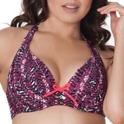 textil Mujer Bañador por piezas Curvy Kate CS2921 CHERRY BERRY Violeta