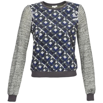 textil Mujer Sudaderas Manoush MOSAIQUE Gris / Negro / Azul