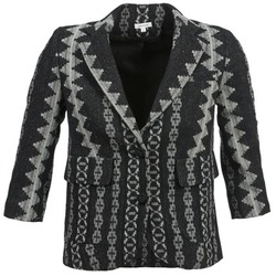 textil Mujer Chaquetas / Americana Manoush TAILLEUR Gris / Negro