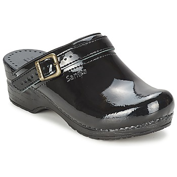 Zapatos Mujer Zuecos (Clogs) Sanita FREYA Negro