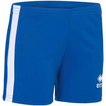 textil Niña Shorts / Bermudas Errea Short femme enfant  Amazon bleu marine/blanc