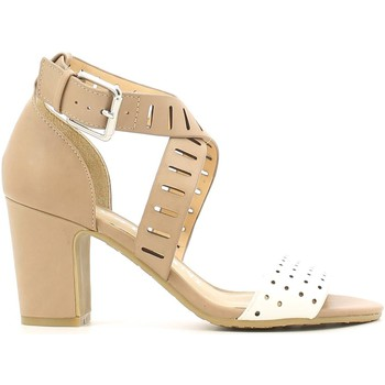 Zapatos Mujer Sandalias Luca Stefani 120403 High heeled sandals Mujeres Beige