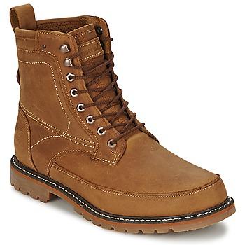 Zapatos Hombre Botas de caña baja Timberland 6IN MIXED MEDIA WP Pelirrojo / Aceitado