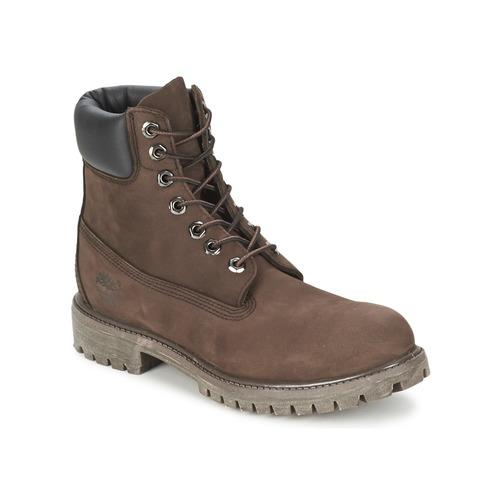 Zapatos Hombre Botas de caña baja Timberland 6 IN PREMIUM BOOT Chocolate