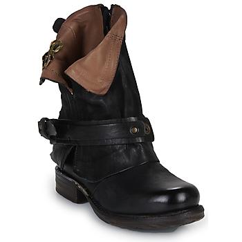 Zapatos Mujer Botas de caña baja Airstep / A.S.98 SAINT BIKE Negro