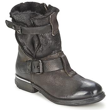 Zapatos Mujer Botas de caña baja Airstep / A.S.98 GABRI Negro