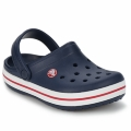 Zapatos Niños Zuecos (Clogs) Crocs CROCBAND KIDS Marino