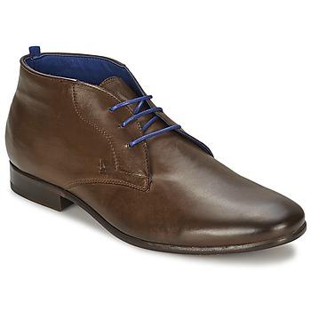 Zapatos Hombre Botas de caña baja Azzaro ISON Castaña