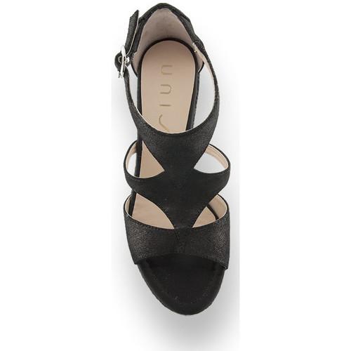 Cómodo y bien parecido Zapatos especiales Unisa Sandálias MARCOS Negro - Zapatos Sandalias Mujer