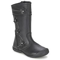 Zapatos Niña Botas urbanas Citrouille et Compagnie AMATIS Negro