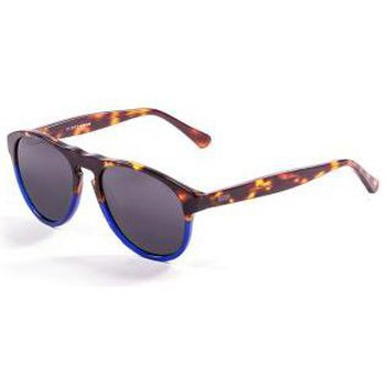 Relojes Hombre Gafas de sol Ocean Glasses Washington marron-choco-y-azul marron-choco-y-azul