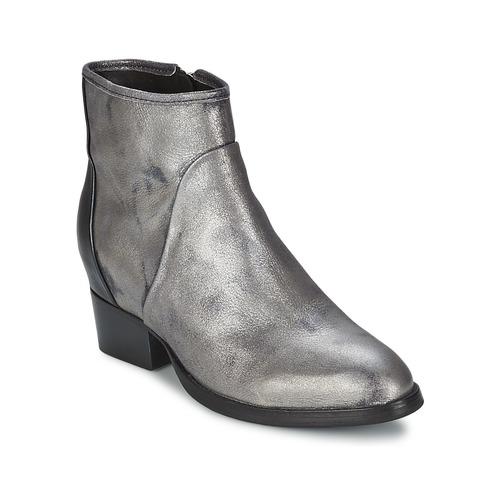 Botines Dave Zapatos Mujer Metal Martins Plateado Catarina nmvwON80