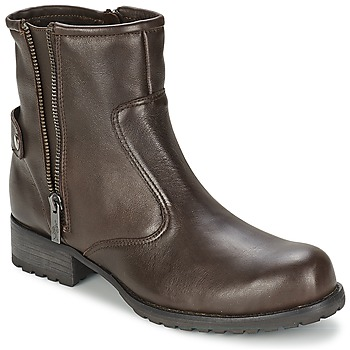 Zapatos Mujer Botas de caña baja One Step IAGO Chocolate