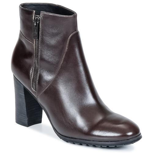 Zapatos Mujer Botines One Step ISIAH Chocolate