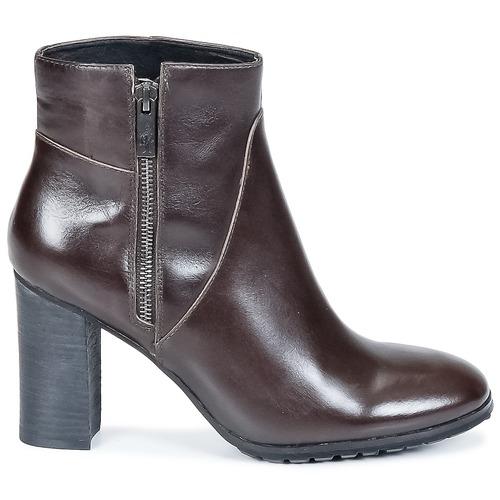 Botines Mujer Isiah Chocolate Zapatos Step One ARL354j