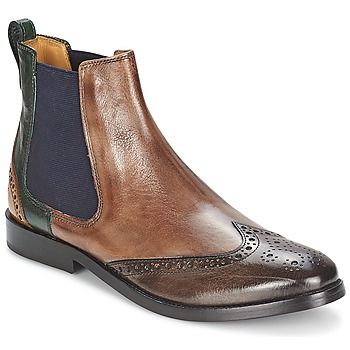 Zapatos Mujer Botas de caña baja Melvin & Hamilton AMÉLIE 5 Marrón / Verde / Amarillo