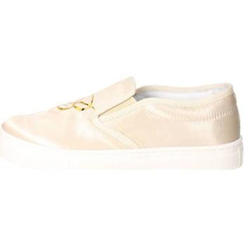Zapatos Niña Slip on Blumarine Blumarine  D3552 Slip-on Zapatos Chica Beige Beige