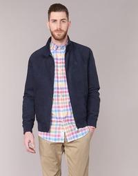 textil Hombre Chaquetas de cuero / Polipiel Serge Blanco FIDENZA Marino