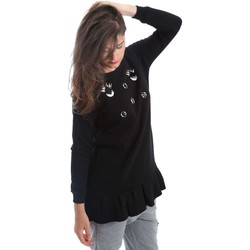 textil Mujer jerséis Y Not? Y17AI078 Sudadera Mujeres Negro Negro