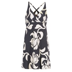 textil Mujer vestidos cortos Patagonia AMBER Negro / Blanco