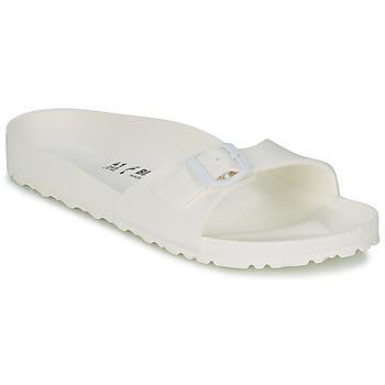 Zapatos Mujer Zuecos (Mules) Birkenstock MADRID EVA Blanco