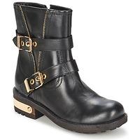 Zapatos Mujer Botas de caña baja Elle RASPAIL Negro
