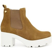 Zapatos Mujer Botines Vexed 3441 Beige