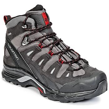 Zapatos Hombre Senderismo Salomon QUEST PRIME GTX® Gris / Negro / Rojo