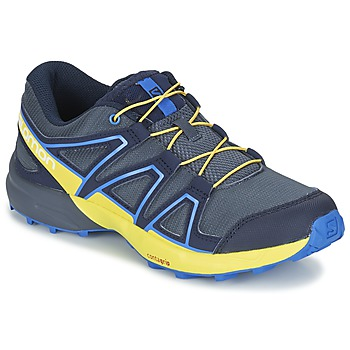 Zapatos Niños Multideporte Salomon SPEEDCROSS J Azul / Amarillo